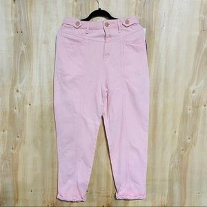 We The Free pink jeans button fly baggy size 30